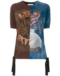 Night Market - Beaded Embroidery T-shirt - Lyst