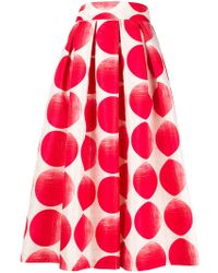 Department 5 - Dot Print Skirt - Lyst