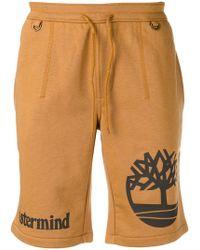 Timberland - Logo Print Track Shorts - Lyst