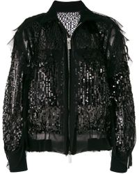 Sacai | Sequin Bomber Jacket | Lyst