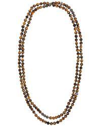 Tateossian - Halskette mit Perlen - Lyst