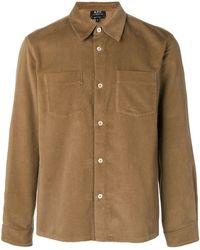 A.P.C. - Corduroy Shirt Jacket - Lyst