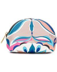 Emilio Pucci - Top Zip Makeup Bag - Lyst
