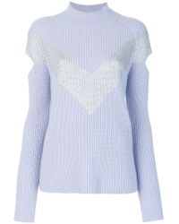 Zoe Jordan - Graham Cut-out Jumper - Lyst