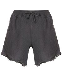 Lost and Found Rooms - Raw Hem Shorts - Lyst