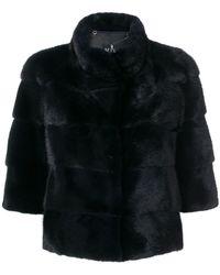 Cara Mila - Cropped Sleeves Jacket - Lyst