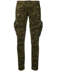 Faith Connexion - Military Skinny Trousers - Lyst