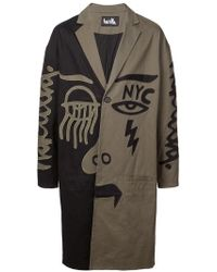 Haculla - 2faced Two-tone Coat - Lyst