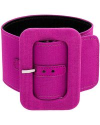 Attico | Rounded Rectangle Buckle Belt | Lyst