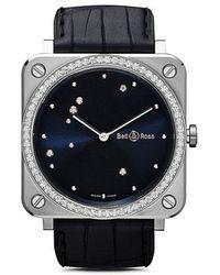 Bell & Ross - Br S Diamond Eagle Diamonds 39mm - Lyst