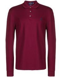 Polo Ralph Lauren - Longsleeved Polo Shirt - Lyst