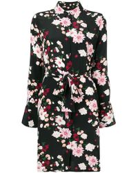 Equipment - Floral-print Shirt Dress - Lyst