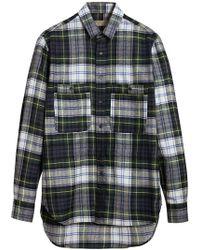 Burberry - Check Tartan Shirt - Lyst