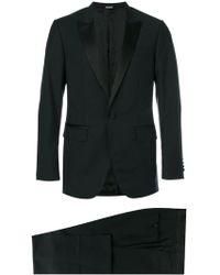 Lanvin - Silk Lapel Two-piece Suit - Lyst