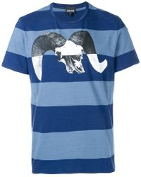 Just Cavalli - T-Shirt mit grafischem Print - Lyst