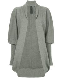 Norma Kamali - Cocoon Oversized Jacket - Lyst