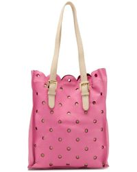 Boutique Moschino - Perforated Tote Bag - Lyst