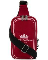 6193ab7f56 Dolce & Gabbana Graffiti Print Crossbody Bag in Black for Men - Lyst
