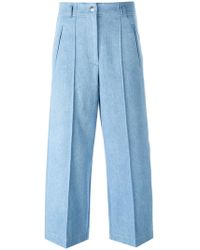 Barbara Bui - Wide-legged Cropped Jeans - Lyst