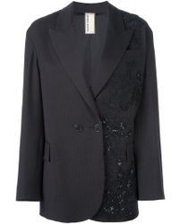 Antonio Marras   Patched Lace Blazer   Lyst