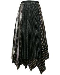 Antonio Marras - Asymmetric Pleat Skirt - Lyst