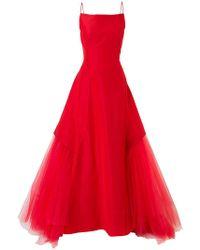 Zac Posen - Flared Dress - Lyst