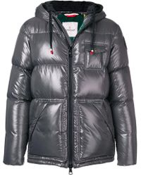 Moncler - Zipped Padded Jacket - Lyst