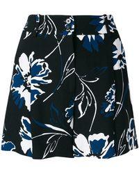Michael Kors - Floral Print Shorts - Lyst