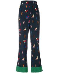 Chinti & Parker - Aztec Trousers - Lyst