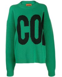 Colville - Logo Embroidered Sweater - Lyst