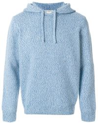 Éditions MR | Knitted Drawstring Hoodie | Lyst