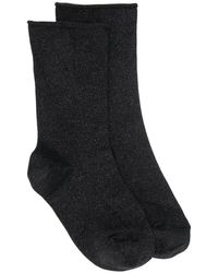 Brunello Cucinelli - Metallic Thread Socks - Lyst