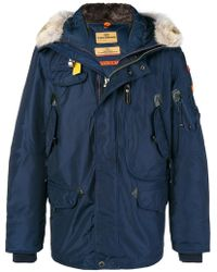 Parajumpers - Hooded coat - Lyst