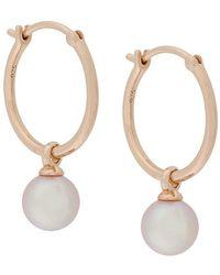 Astley Clarke - Vera Drop Hoop Earrings - Lyst