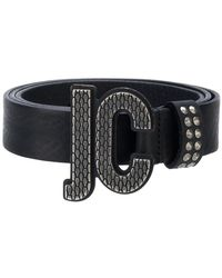 Just Cavalli - Logo Buckle Belt - Lyst
