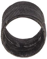 Detaj - Textured Ring - Lyst