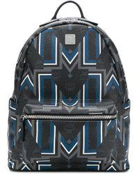 MCM - Stark Printed Backpack - Lyst