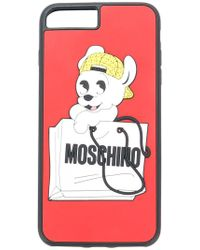 Moschino - Pudge Iphone 7s Case - Lyst