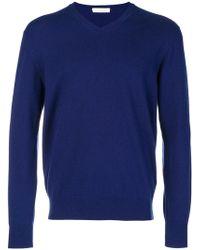 Cruciani - Cashmere V-neck Sweater - Lyst