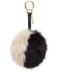 Fendi - Pompom Bag Charm - Lyst