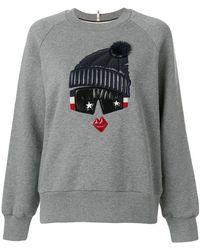 Moncler Grenoble   Padded Detail Sweatshirt   Lyst