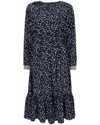 ANOUKI - Star Print Dress - Lyst