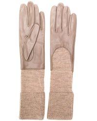 Gala - Knitted Cuff Gloves - Lyst