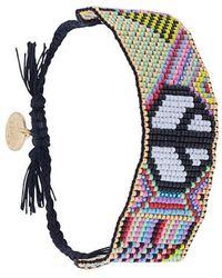 Venessa Arizaga - Peace Symbol Bracelet - Lyst