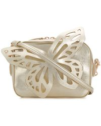 Sophia Webster - Flossy Butterfly Leather Cross Body Bag - Lyst