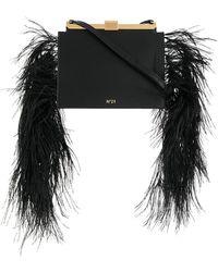 N°21 - Embellished Satchel Bag - Lyst