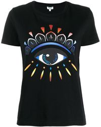 KENZO Gradient Eye T-shirt - Black