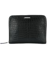Saint Laurent - Id Zipped Tablet Holder - Lyst