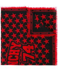 Givenchy   Star Printed Scarf   Lyst