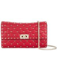 Valentino - Rockstud Spike Shoulder Bag - Lyst